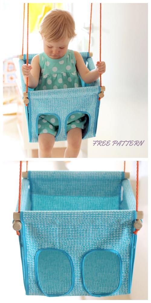 DIY Baby/Toddler Swing Free Sewing Patterns & Tutorials