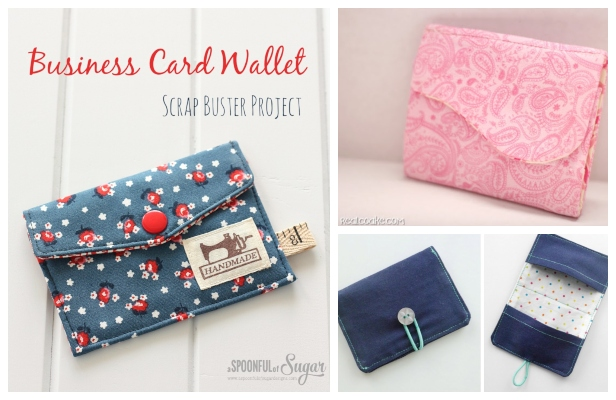 DIY Business Card Free Sewing Patterns