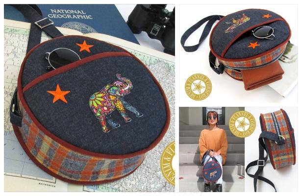 DIY Canteen Bag Free Sewing Pattern & Tutorial