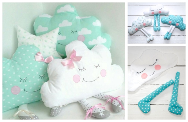 Diy Fabric Cloud Baby Free Sewing Pattern Amp Tutorial
