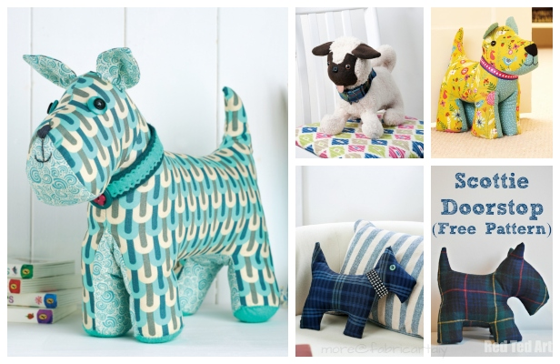 DIY Fabric Dog Toy Free Sewing Patterns