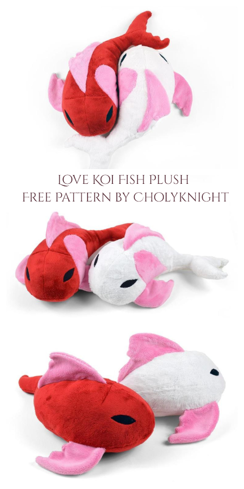 DIY Fabric Fish Free Sewing Pattern & Tutorial
