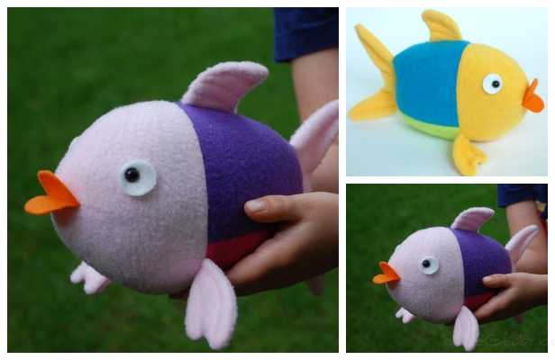 DIY Penny the Fish Free Sewing Pattern & Tutorial