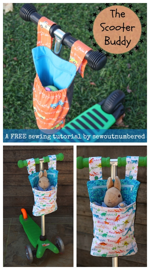 DIY Scooter Buddy Free Sewing Pattern & Tutorial