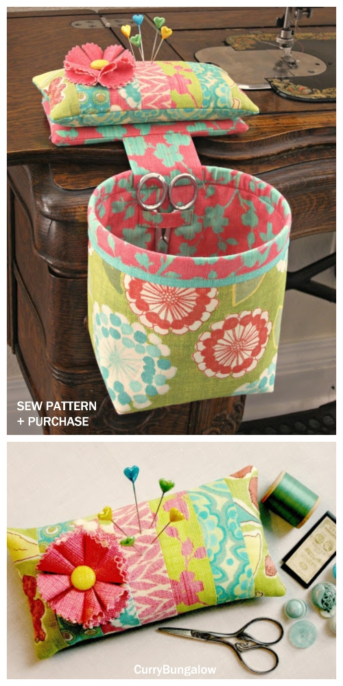 DIY Thread Catcher Hanging Bag Sewing Patterns