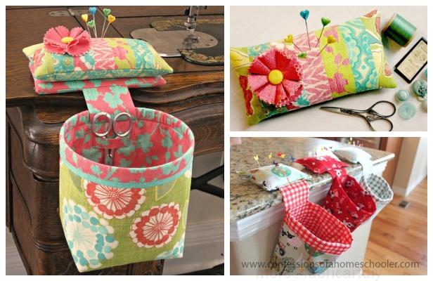 DIY Thread Catcher Hanging Bag Free Sewing Patterns