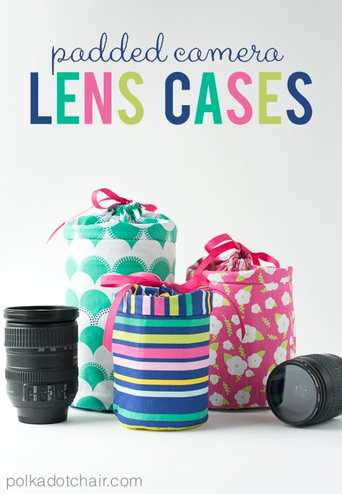 DIY Padded Camera Lens Case Free Sewing Patterns & Tutorials