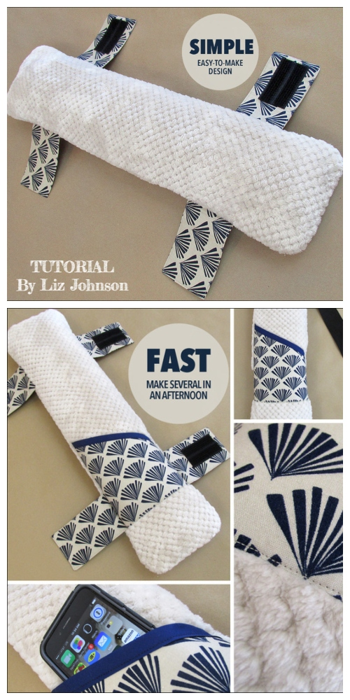 DIY Seat Belt Travel Pillow Free Sewing Patterns + Video