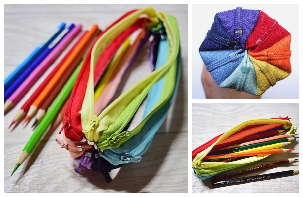 DIY Zipper Around Pencil Case Free Sewing Tutorial