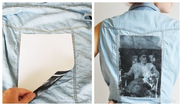 How to Transfer Photo onto Fabric DIY Tutorial