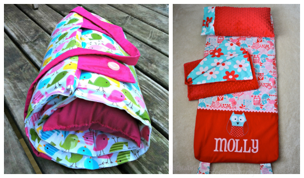 DIY Kids Nap Mat Free Sewing Patterns+Tutorials