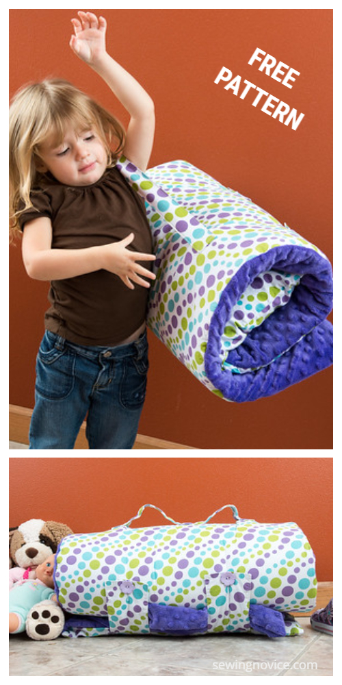 DIY Kids Nap Mat Free Sewing Patterns+Tutorialserns-f4