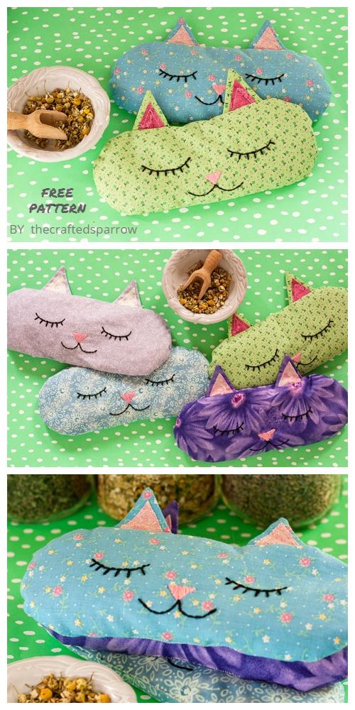 fabricart DIY Cat Pillow Free Sewing Patterns f5