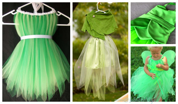 DIY Halloween Tinkerbell Costume Tutorial Under $10
