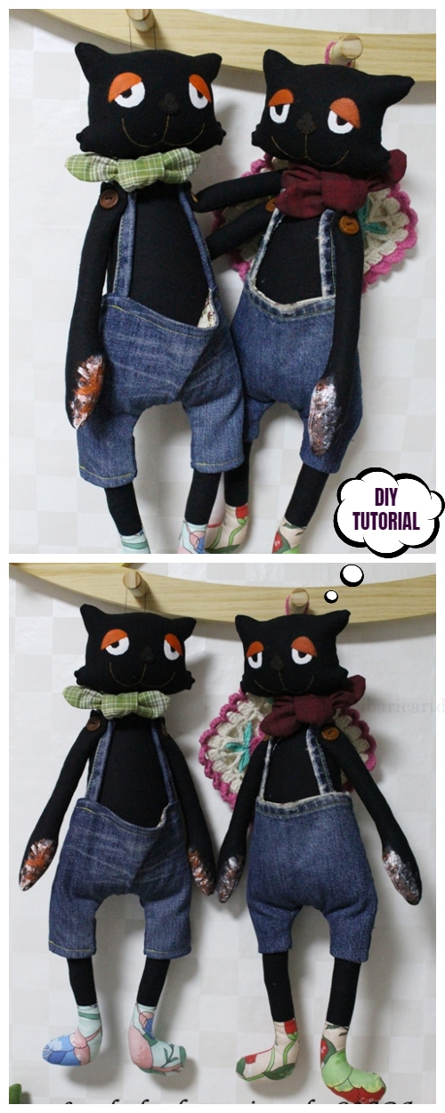 DIY Hanging Cat Toy Free Sewing Patterns