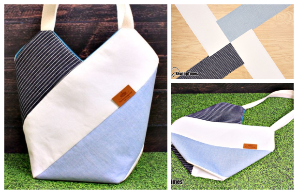 DIY WindMill Tote Bag Free Sewing Pattern + Video