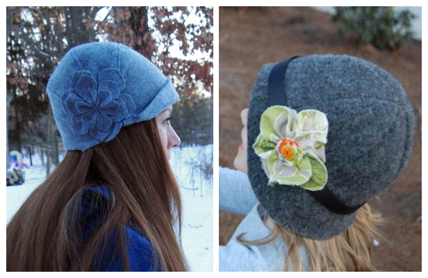 DIY Cloche Hat Free Sewing Patterns