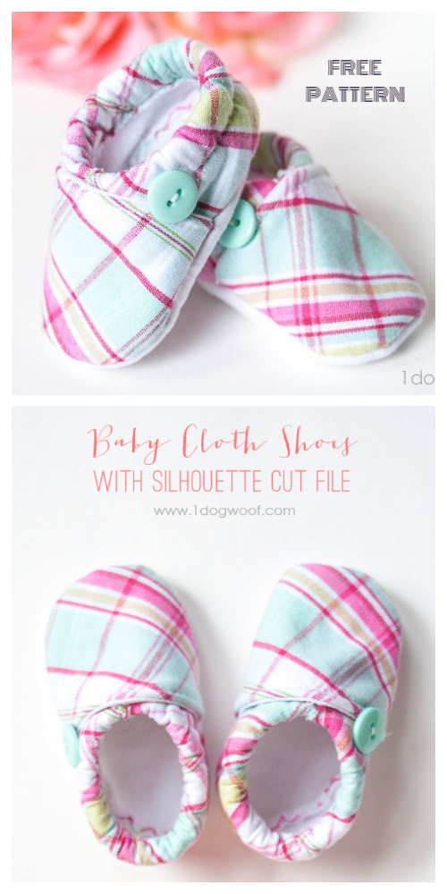 DIY Fabric Baby Crib Booties Free Sewing Pattern