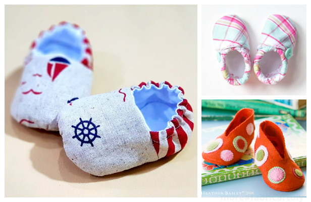 DIY Fabric Baby Crib Booties Free Sewing Patterns + Video