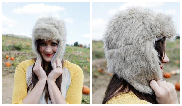 DIY Trapper Hat Free Sewing Pattern