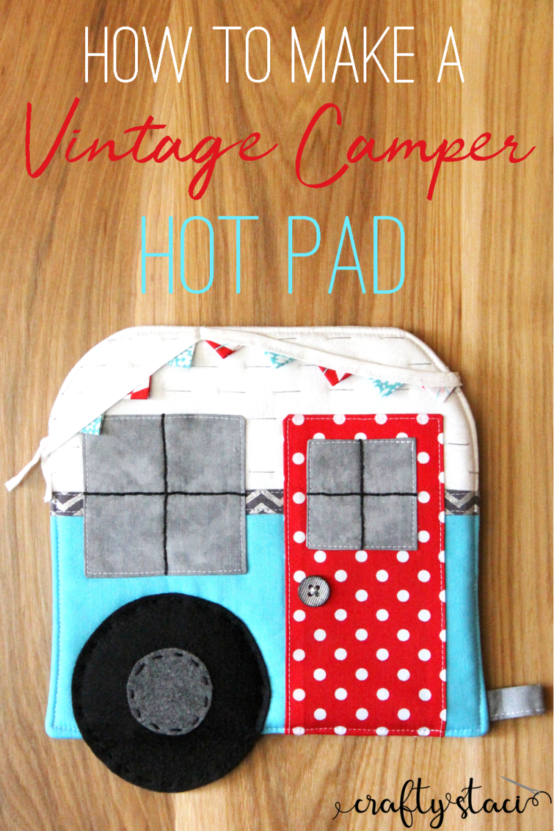 DIY Vintage Quilted Camper Hot Pad Free Sewing Patterns