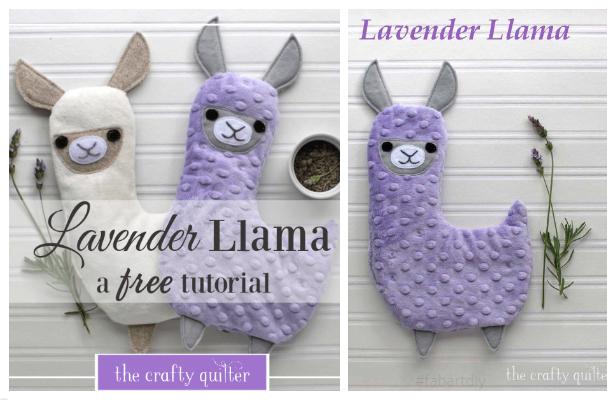 DIY Fabric Toy Llama/Alpaca Free Sewing Patterns + Tutorials