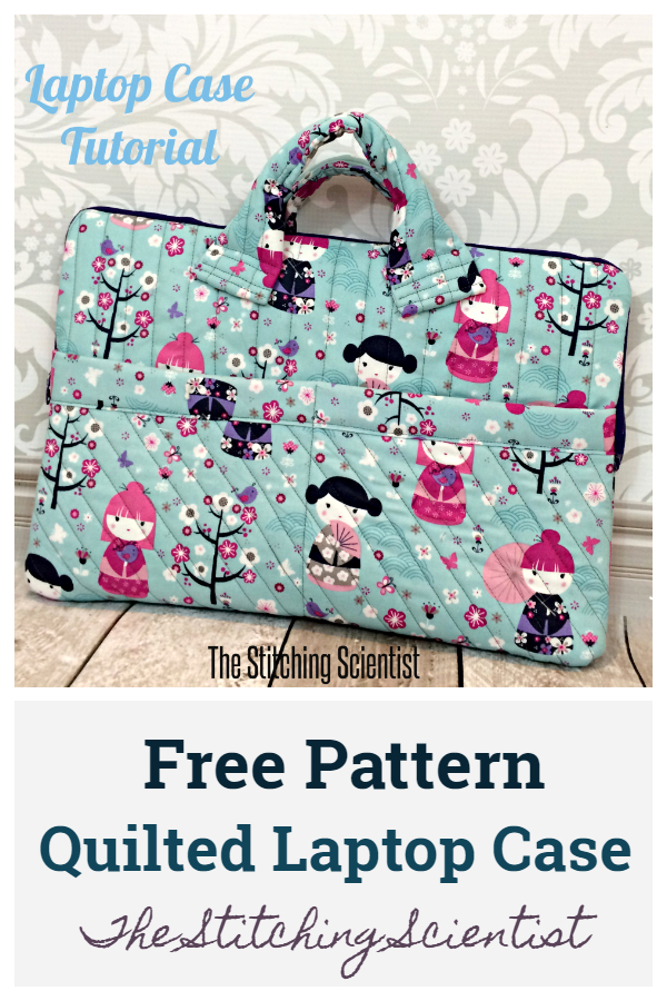 DIY Quilted Laptop Case Free Sewing Patterns