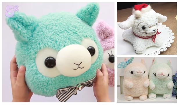 DIY Fabric Toy Alpaca / Llama Free Sewing Patternsg Patterns f