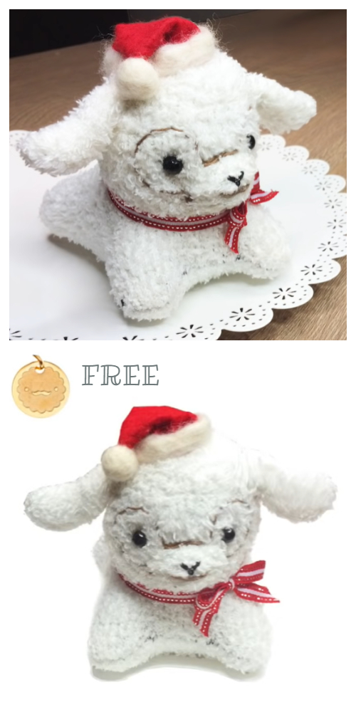 DIY Sock Alpaca Plushie Free Sewing Video Tutorial