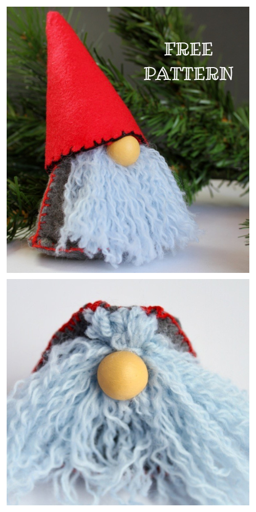DIY 30 Min Christmas Gnome Free Sewing Pattern & Tutorial