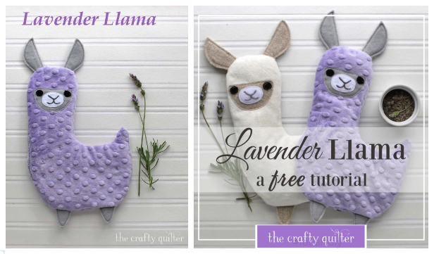 DIY Fabric Toy Llama/Alpaca Free Sewing Patterns