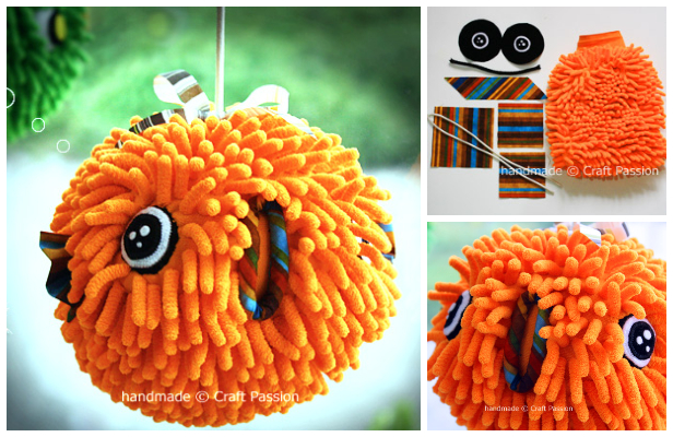 DIY Easy PufferFish Doll Free Sewing Pattern + Tutorial