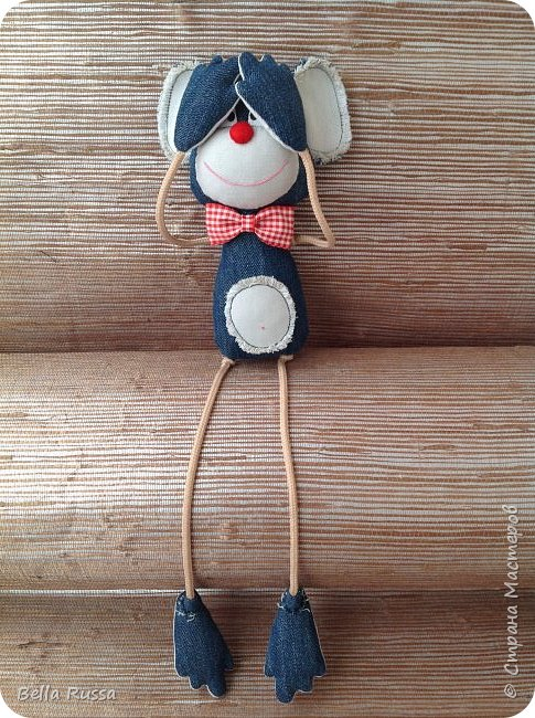 DIY Fabric Monkey Toy Free Sewing Pattern3
