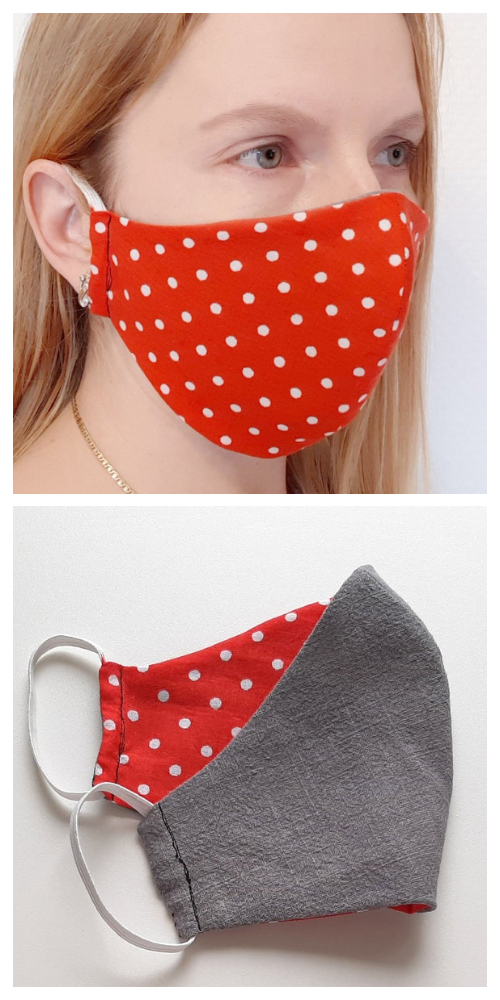 DIY Fabric Face Mask Free Sewing Patterns & Paid