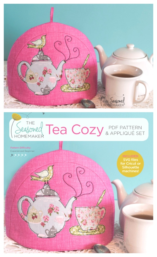 DIY Fabric Teapot Cozy Free Sewing Patterns