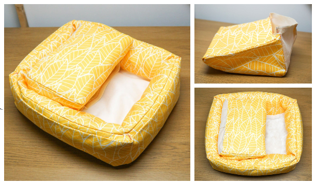 DIY Fabric Foot Cozy Free Sewing Pattern & Tutorial