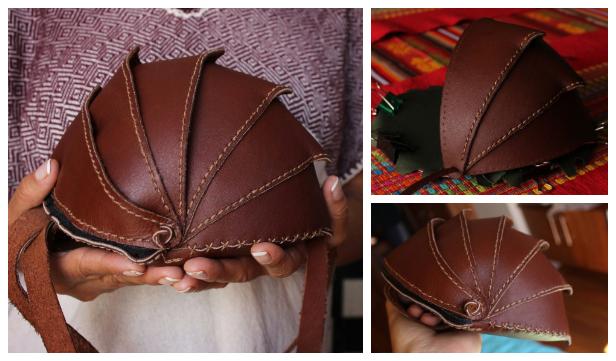 DIY Leather Beetle Bag Free Sewing Pattern & Tutorial