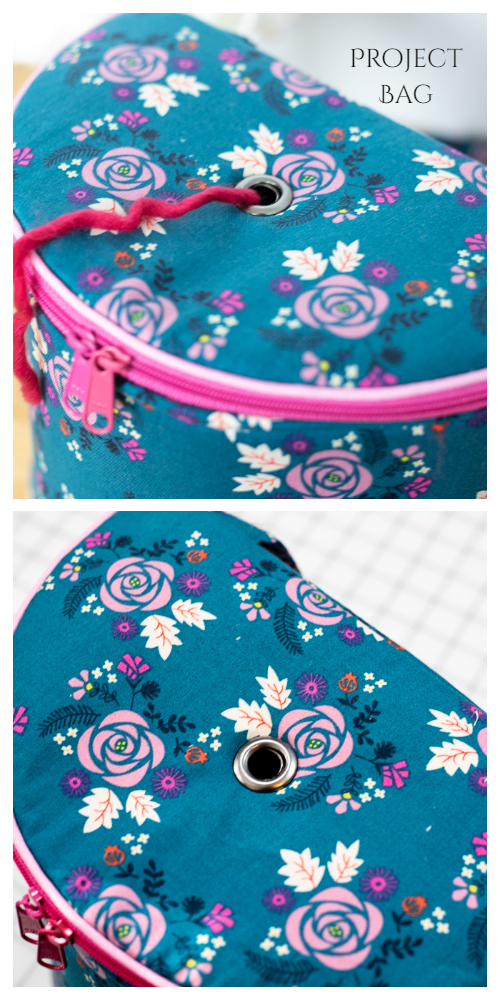 DIY Fabric Yarn Project Bag Free Sewing Patterns & Paid