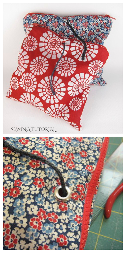 DIY Fabric Project Yarn Sack Free Sewing Patterns