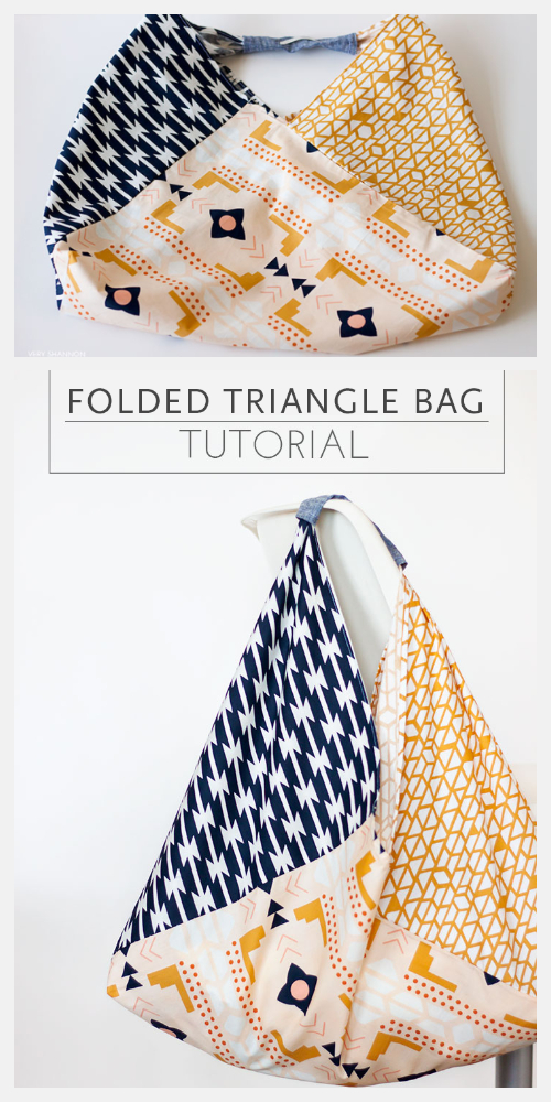 DIY Fabric Origami Bento Bag Free Sewing Patterns