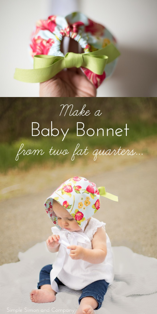 Easiest Baby Sun Bonnet Free Sewing Patterns
