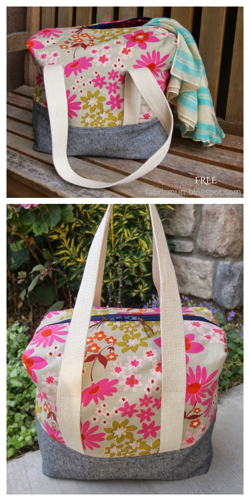 Ellie Travel Case Free Sewing Patterns