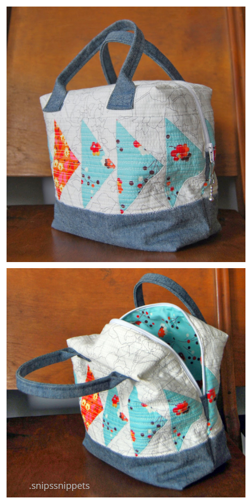 Quilt Ellie Travel Case Free Sewing Patterns