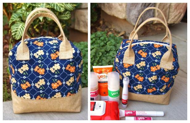 Ellie Travel Case Free Sewing Patterns