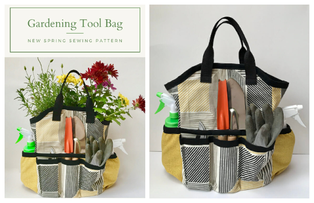 Gardening Tool Bag Free Sewing Pattern