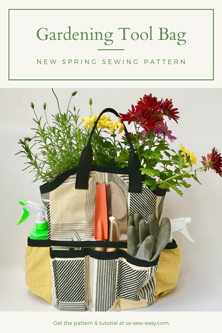 Gardening Tool Bag Free Sewing Pattern