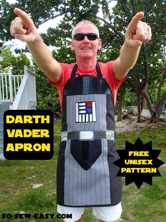 Star War Apron Free Sewing Patterns + Video1
