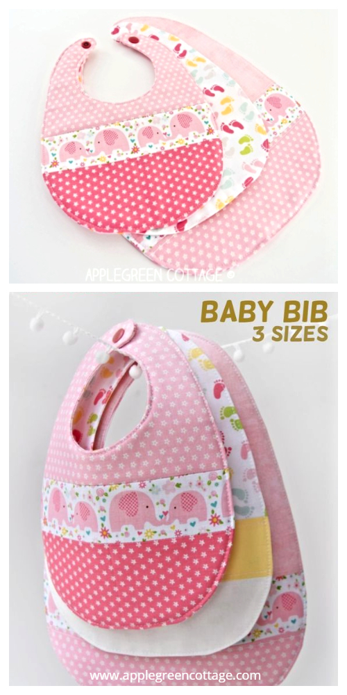The Best Free Fabric Baby Bib Free Sewing Pattern