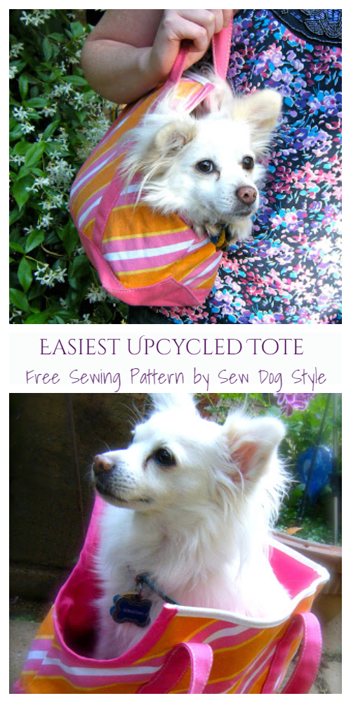 DIY Fabric Dog Sling Carrier Free Sewing Patterns