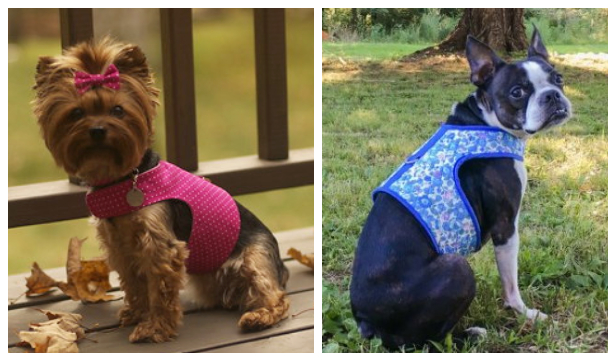 DIY Fabric Dog Harness Free Sewing Patterns